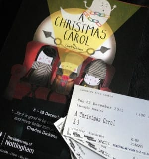 Review: Family Theatre at Lakeside Arts Centre – A Christmas Carol
