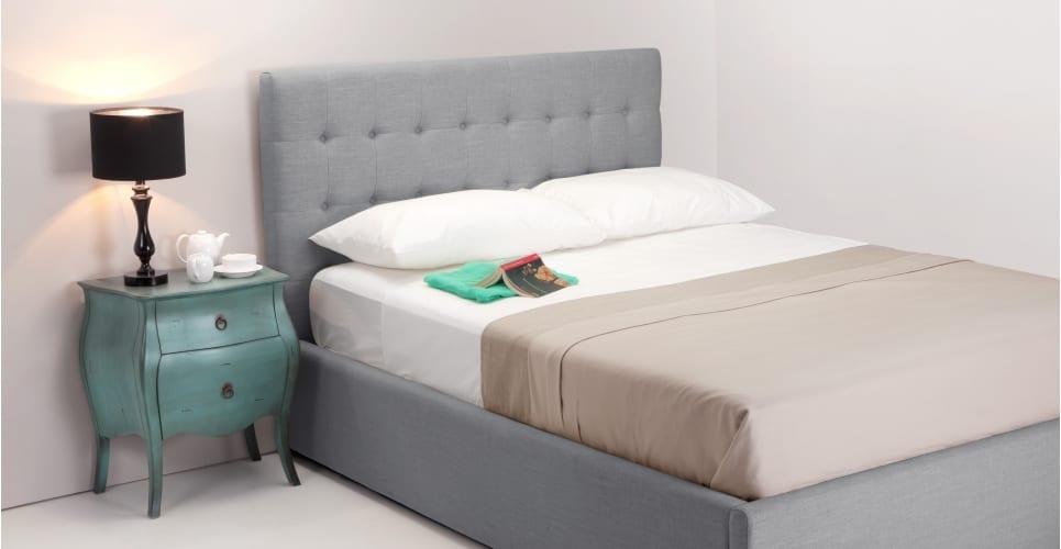 Finlay bed persian grey