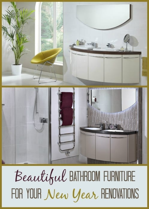 Great furniture updates for any new year bathroom renovations