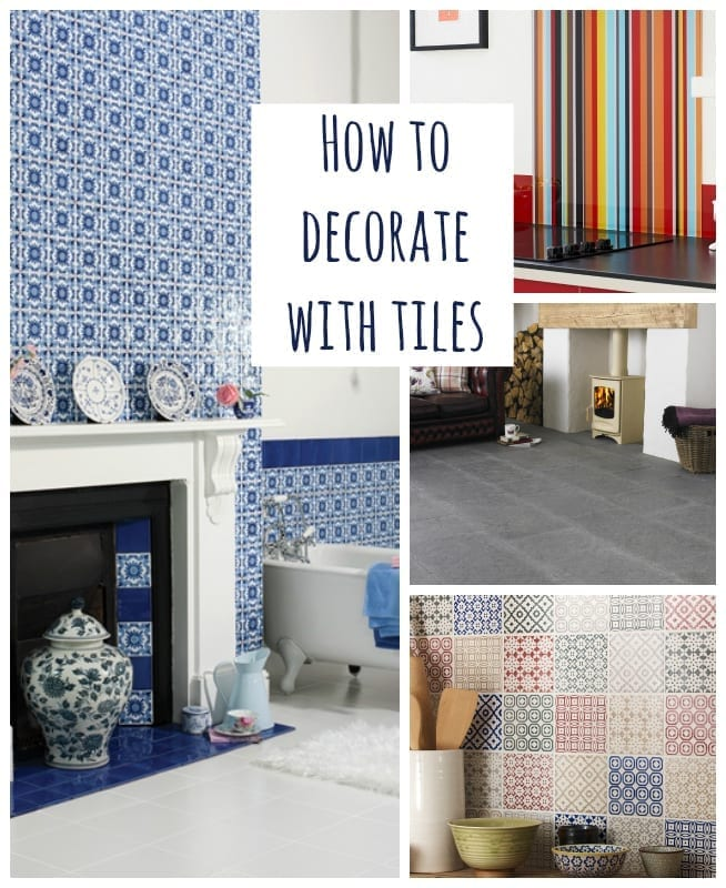 how to decorate with tiles