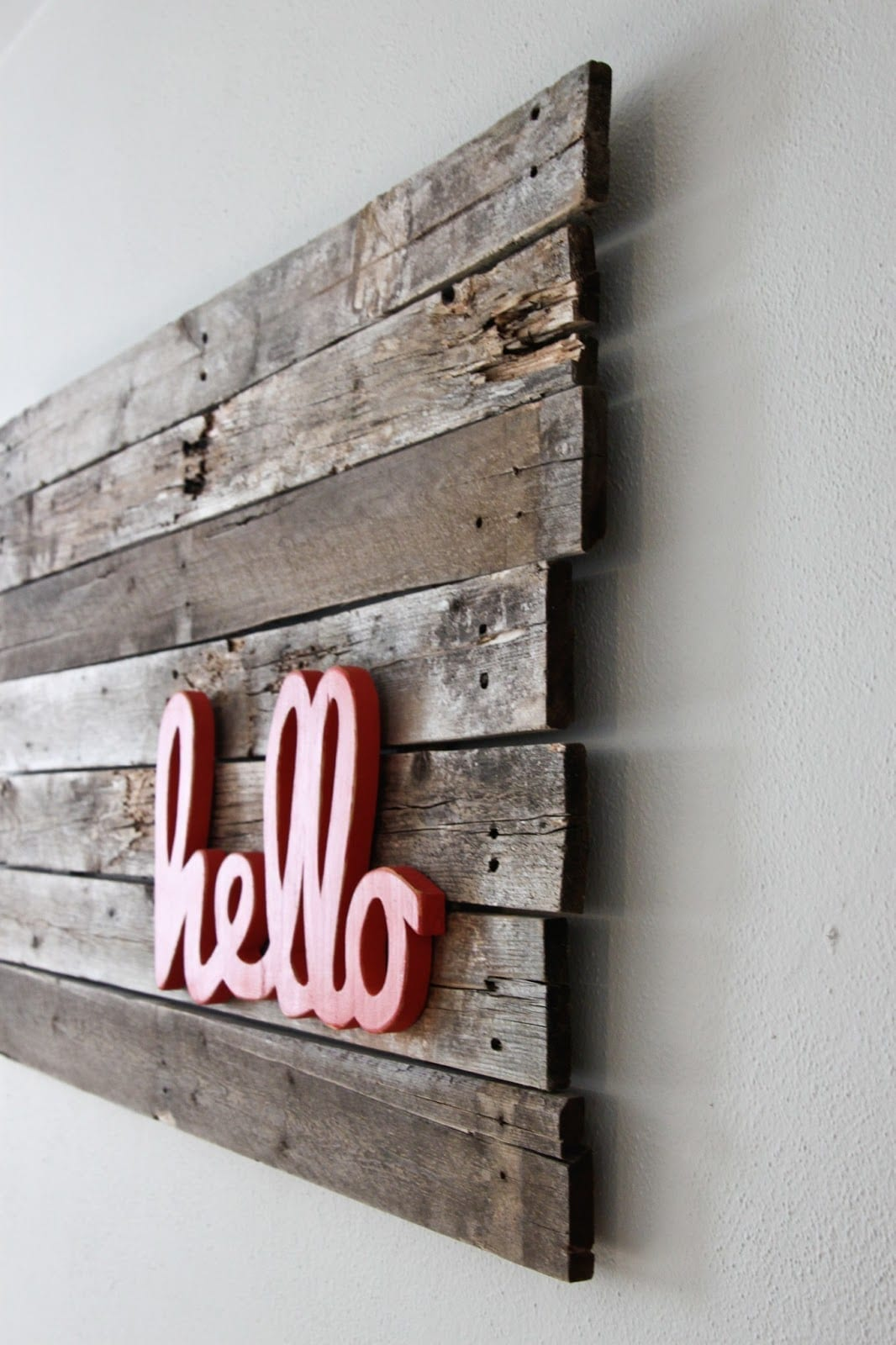 Upcycling interiors brilliant ideas for pallet wall art for Pallet ideas