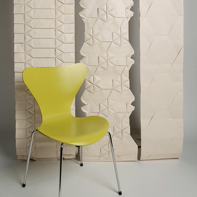 handmade origami wallpaper