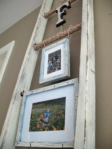 upcycled ladder