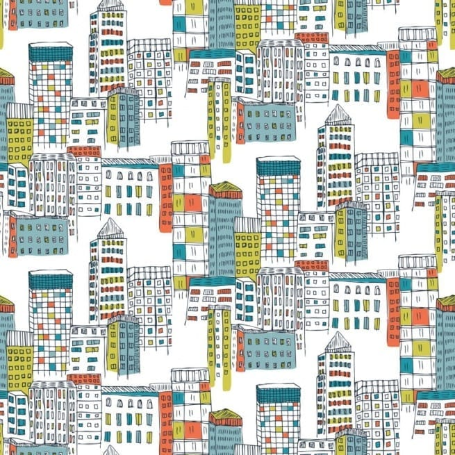 Collection called a colourful world the new jessica hogarth wallpaper