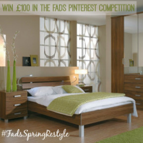 Win £100 to spend in the FADS Pinterest Competition #FadsSpringRestyle