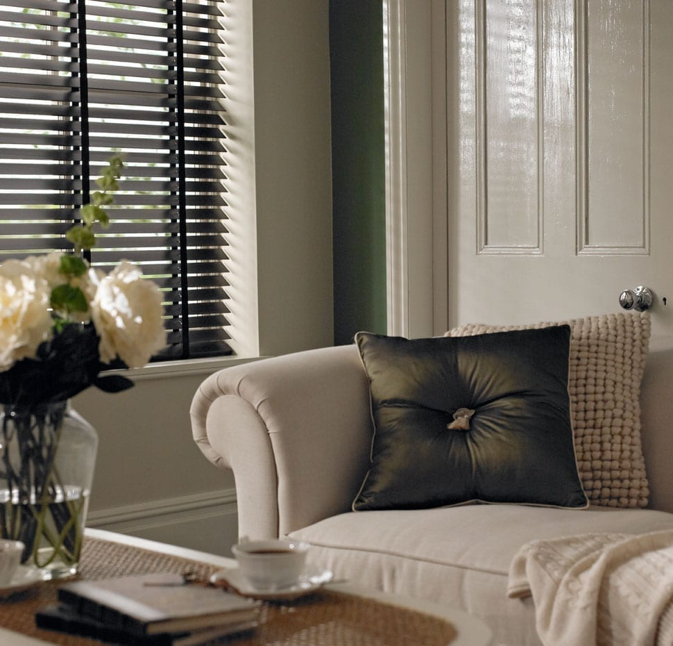 3 ways with contemporary window blinds love chic living for Modern blinds for windows