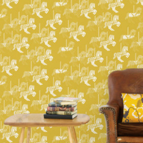 Wallpaper Wednesday: Fayre's Fair from Mini Moderns