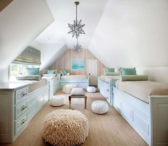 attic space bedroom ideas - 5 Ways to a Stylish Loft Conversion Love Chic Living