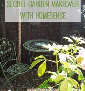 A Garden Makeover Challenge with HomeSense