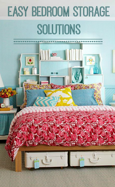 Easy Bedroom Storage Solutions Love Chic Living