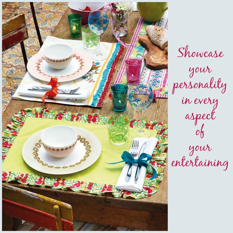 Eclectic tableware