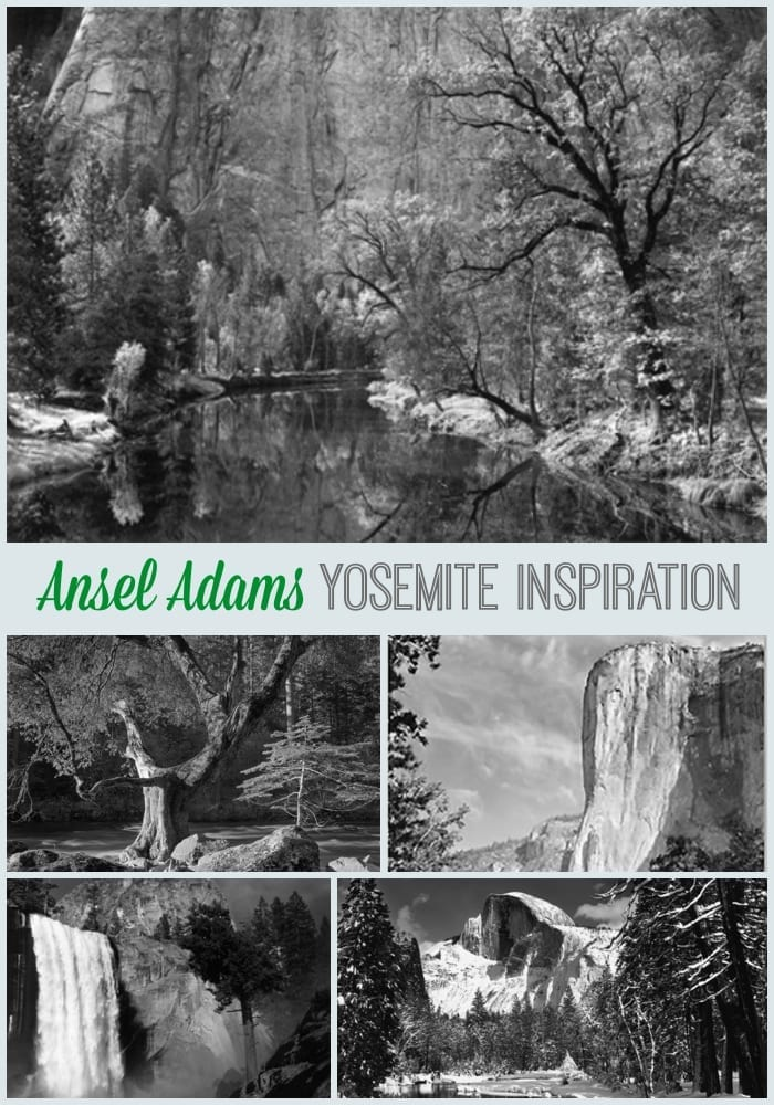 Ansel Adams inspiration