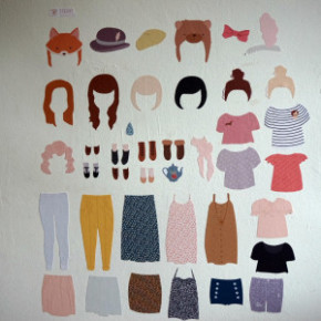 Review: Dress Up Doll Wall Decal from Piccoli & Co