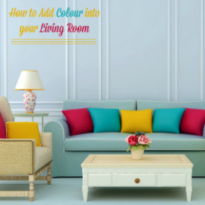 5 Ways to Add Colour to your Living Room