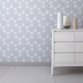 Wallpaper Wednesday: Geo Floral by Habitat in the Love Chic Living Shop