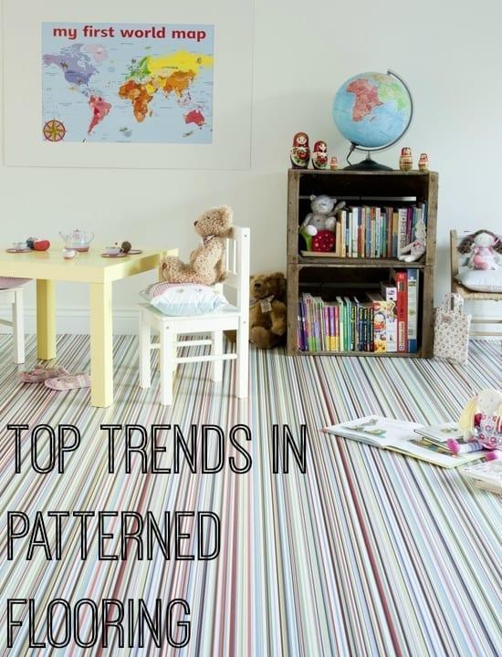 Top trends in patterned flooring
