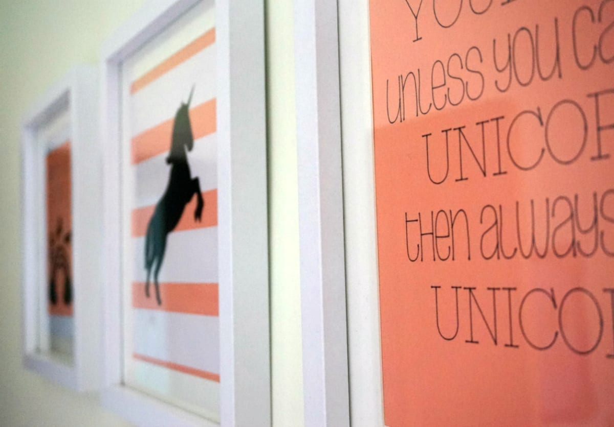 Uniorn wall art