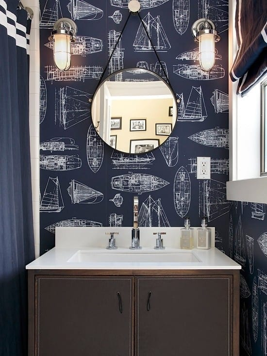 nautical bathroom trend