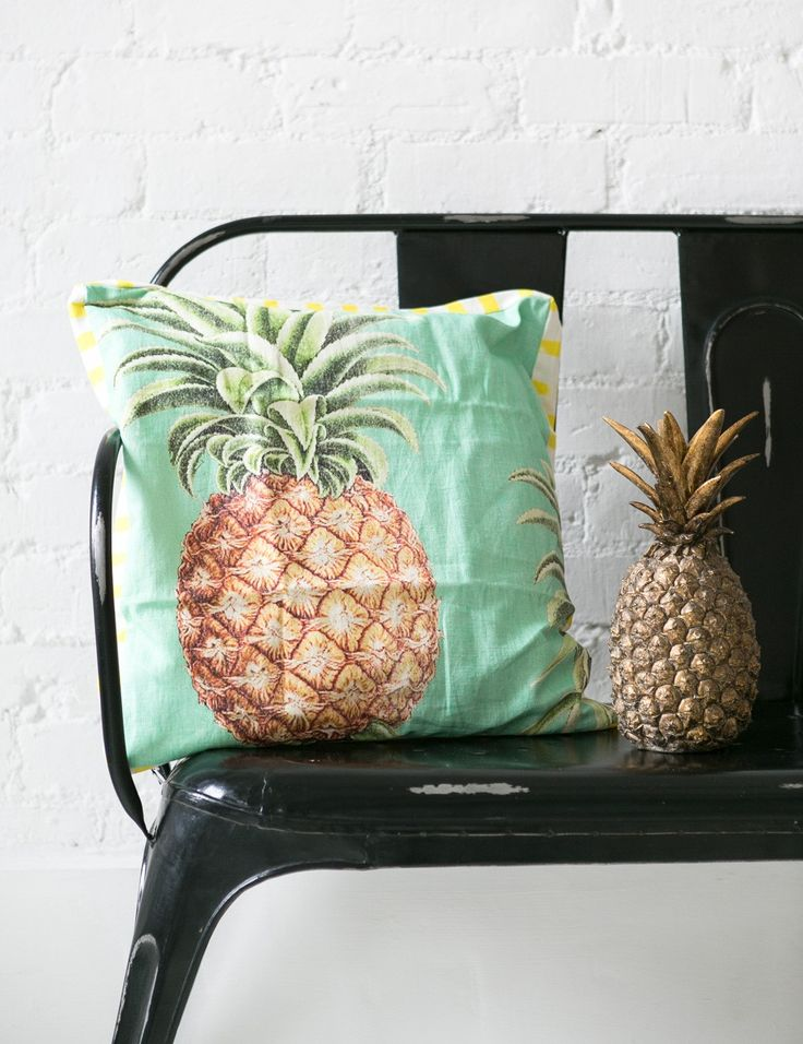 pina colada cushion