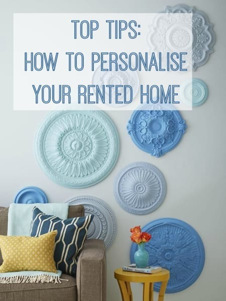 how to personalise your new rented home