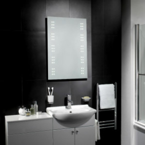 WIN a Leto LED Battery Bathroom Mirror worth £190 (2 Prizes Available)