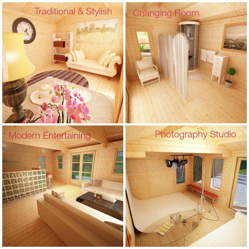 Log Cabin interior inspiration