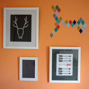 A Mini Wall Collage with eFrames
