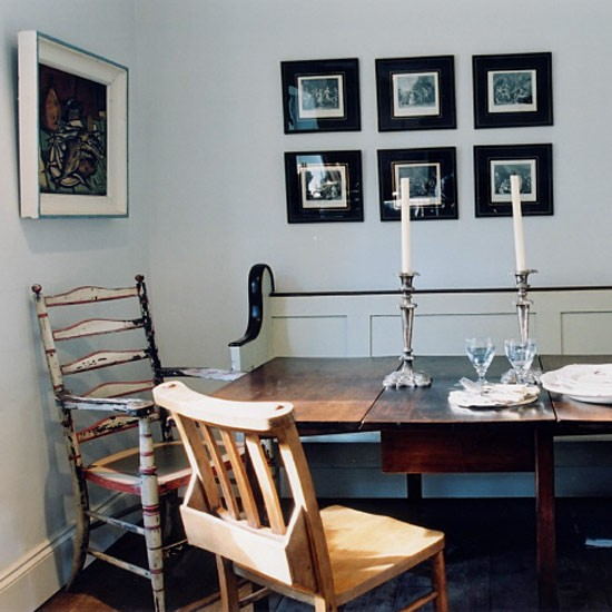 How to create a rustic dining room