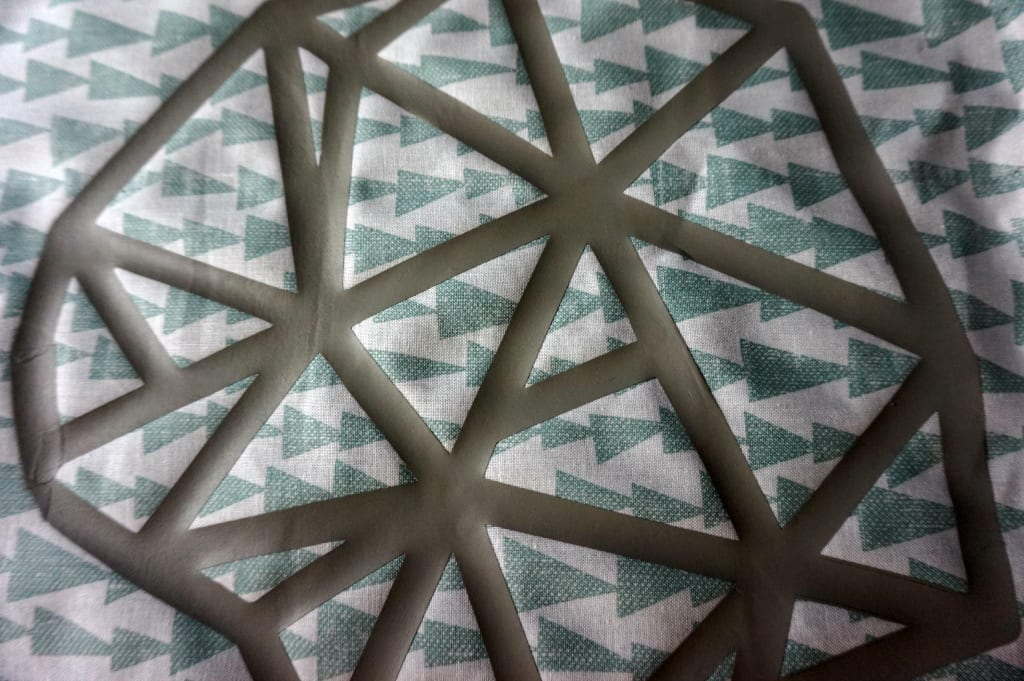 Cricut iron on geometric shape