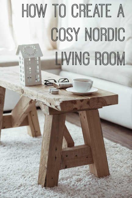 how to create a cosy Nordic living room