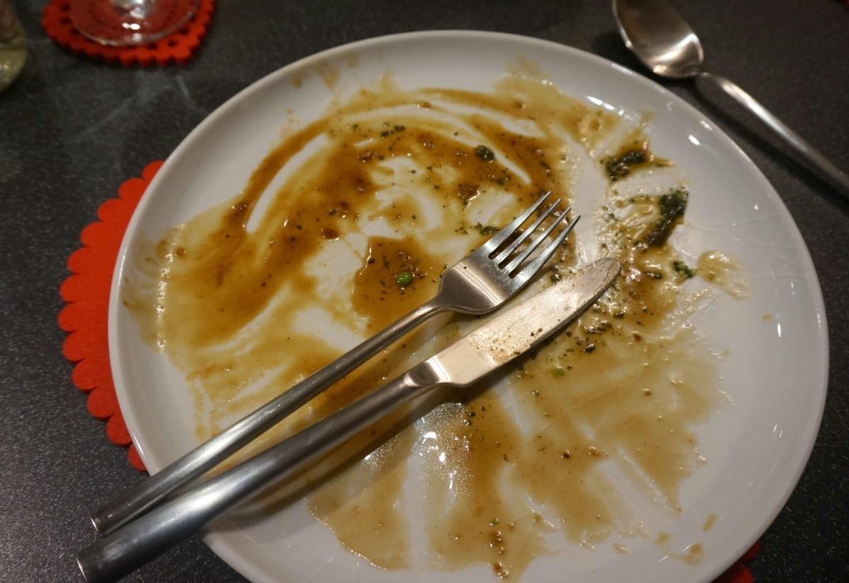 Messy plates