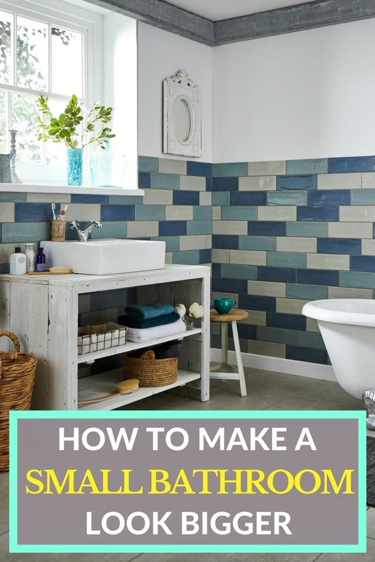 How To Make A Small Bathroom Feel Bigger: 7 Space Saving Bathroom And En-Suite Tips