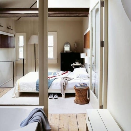 2014 Tips For Open Living Spaces Decorating Ideas: 7 Space Saving Bathroom And En-Suite Tips