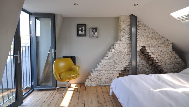 7 space saving bathroom and en suite tips love chic living for Bedroom ideas victorian terrace