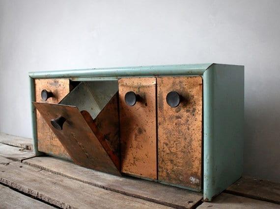 Copper storage