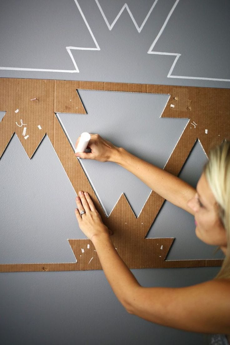 Pinterest: Creative Wall Displays - Love Chic Living on Creative Wall  id=68867