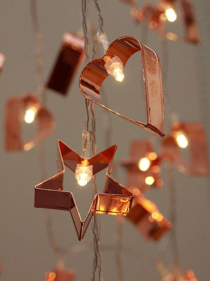 Cookie cutter lights