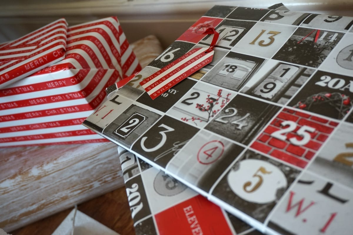Copenhagen style wrapped gifts