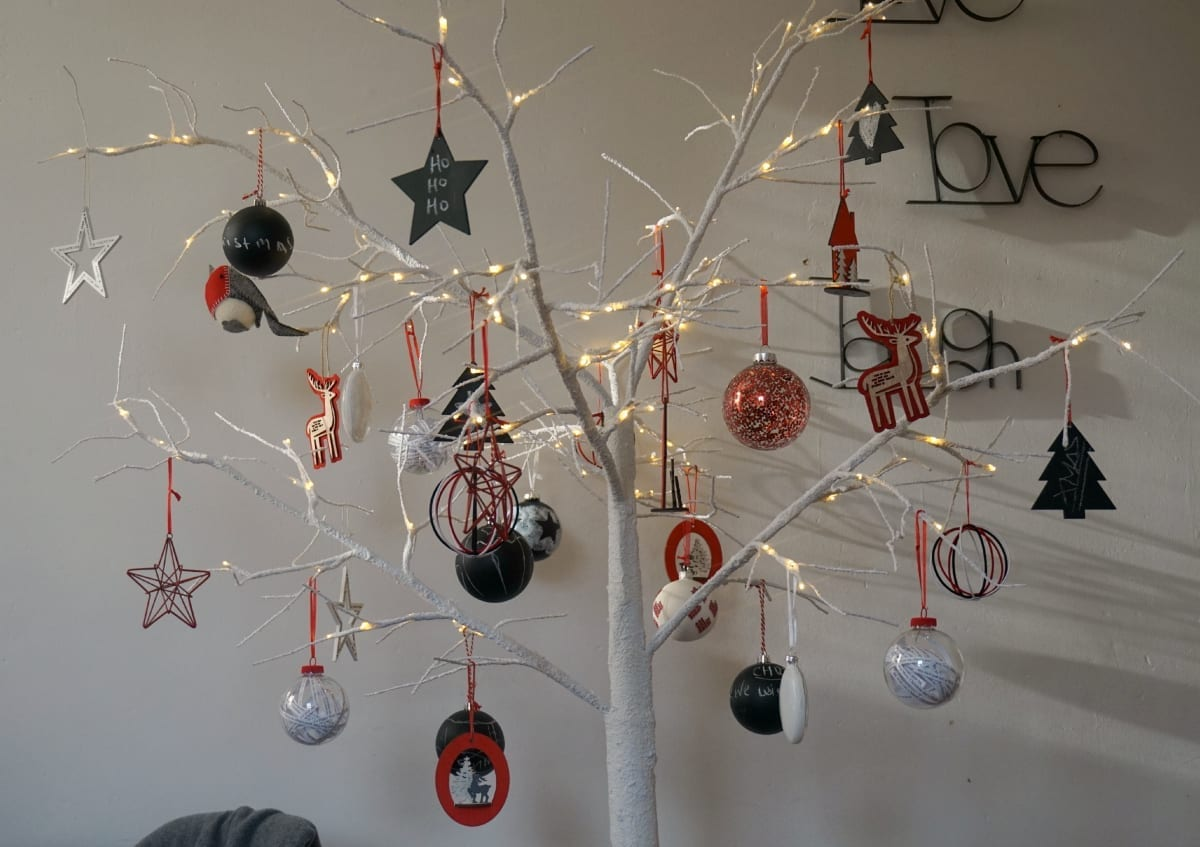Scandi christmas tree