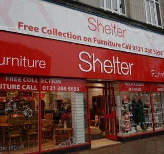Shelter furniture store