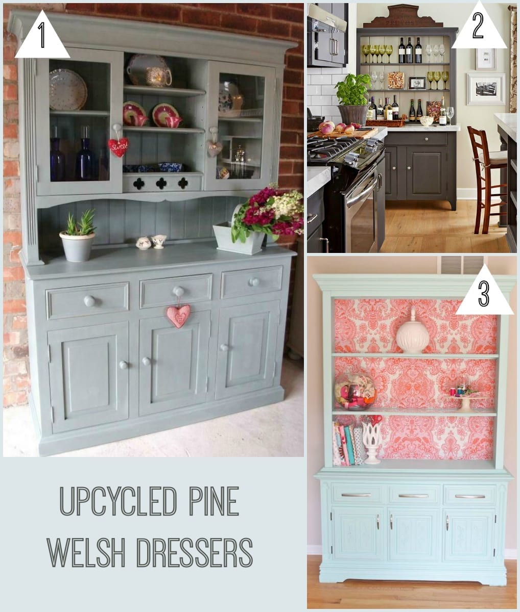 Upcycled welsh dressers