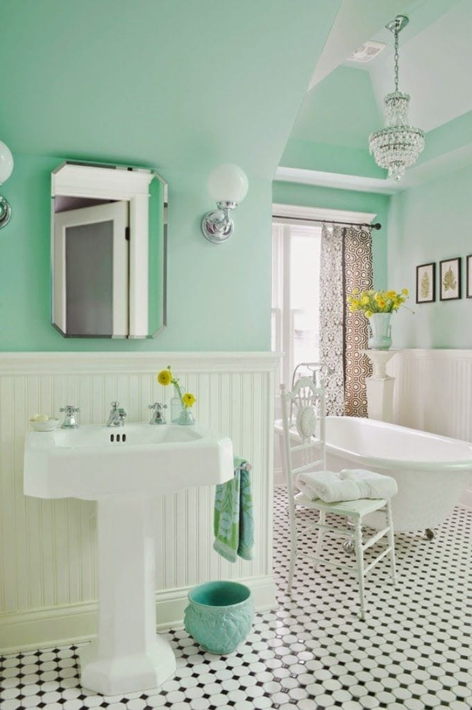 How to create the perfect bathroom love chic living for Bathroom ideas uk 2015