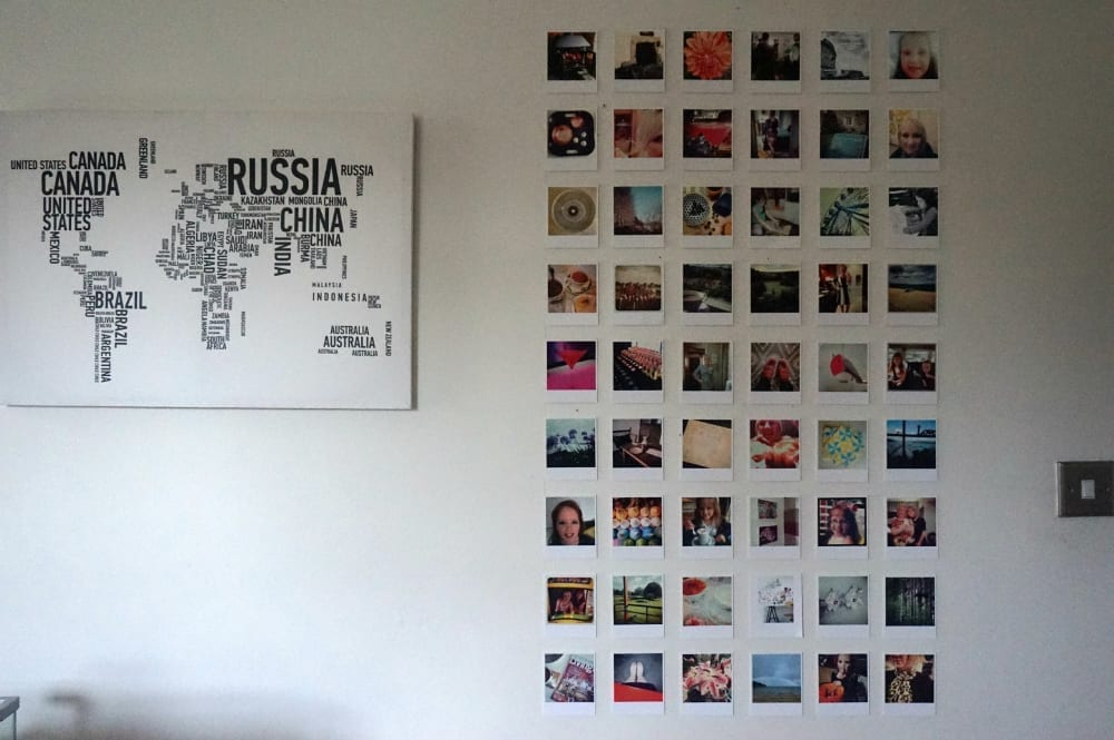 DIY Instagram Wall Display and Square Snaps Giveaway ...