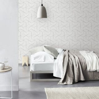 Wallpaper Wednesday: Etsy Cube Self Adhesive Wallpaper
