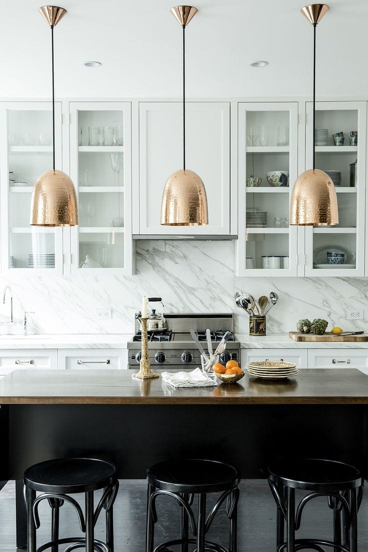 Contemporary Kitchens Showcase Love Chic Living