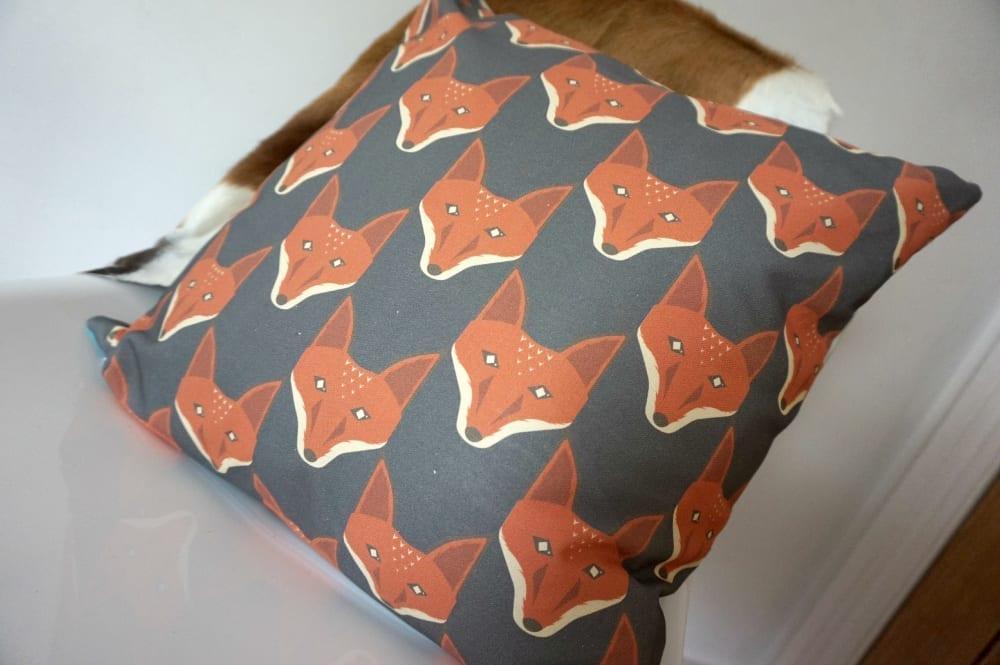 Andy Hau Harlequin cushion