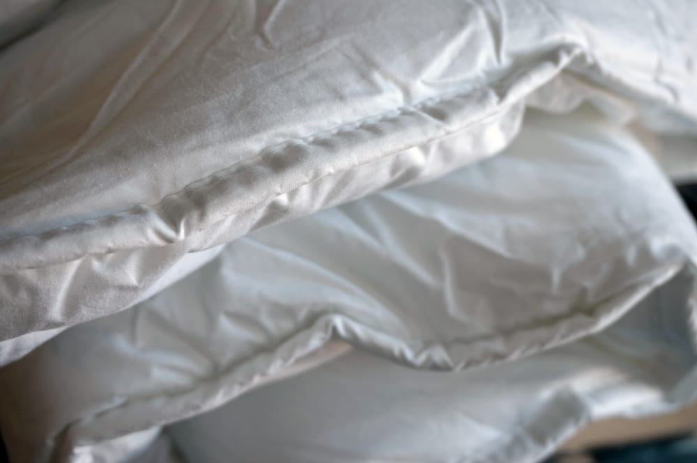 Rest Assured duvet close up