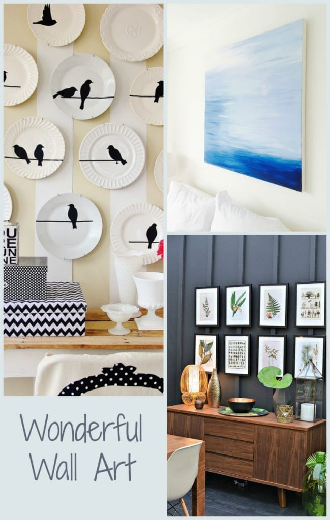 Wonderful Wall Art creations from my Wall Art Pinterest board