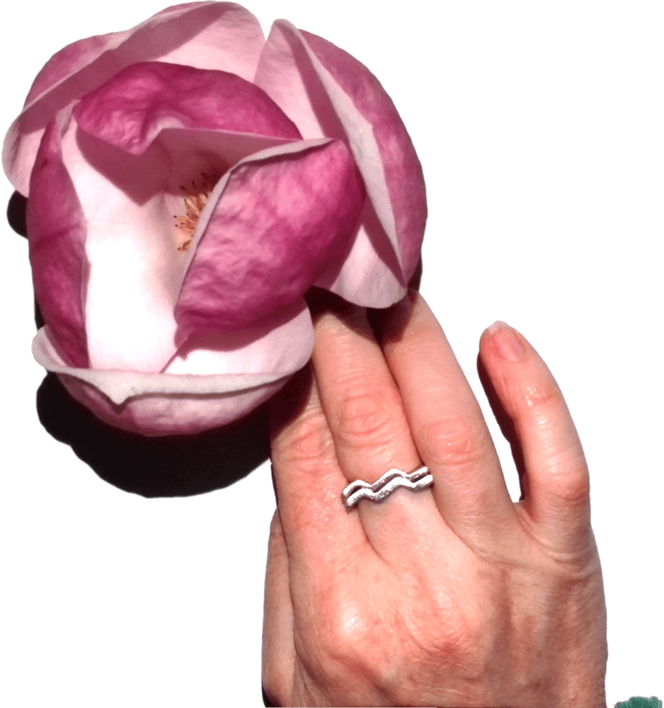 hand and flower on the SPROUT by HP