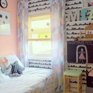 Nostalgie Cat's bedroom makeover
